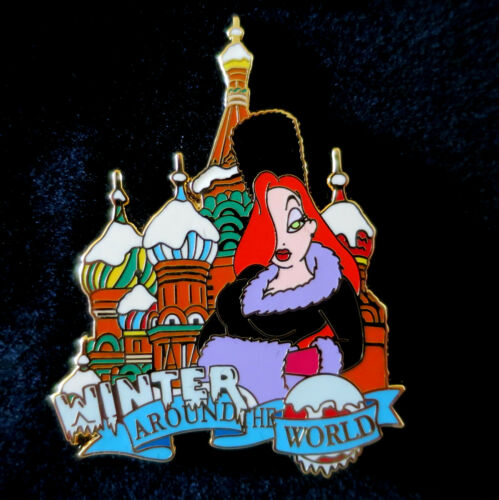 DISNEY JESSICA RABBIT AROUND THE WORLD WINTER IN MOSCOW LE 250 Pin New On Card