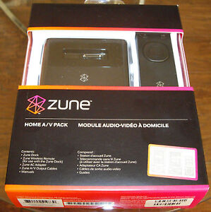 New Microsoft Zune Home AV Pack V2 H7A-00001 For all ZUNE{Brand New,Never Used}