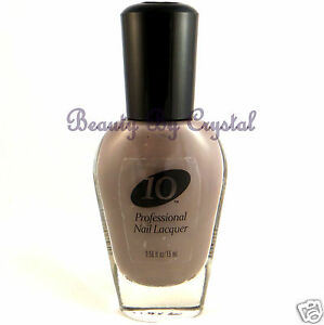 Pro10-Professional-Nail-Lacquer-Polish-SHOWTIME-459-Taupe-Gray-Creme
