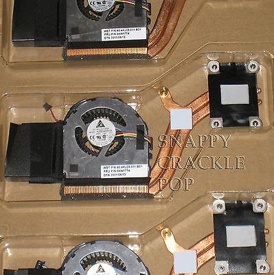 Ibm Lenovo Thinkpad X220 X220t Tablet Heat Sink Cooling Fan Assembly 04w1774