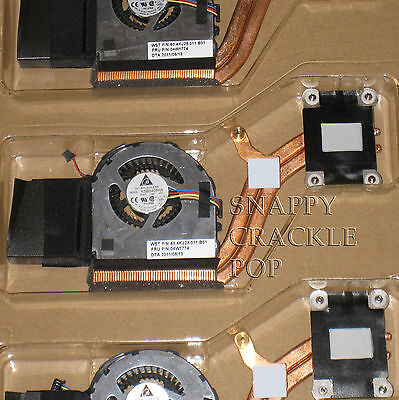 Original Ibm Lenovo Thinkpad X220 X220i Tablet Heat Sink Cooling Fan Pc