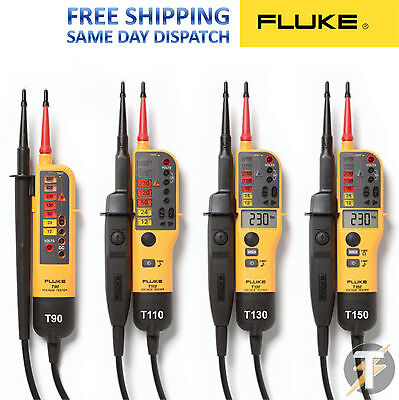 Fluke T90t110t130t150 2 Pole Voltage And Continuity Testers 2021 Editions