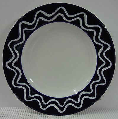 Dansk COBALT WAVE RIM DAN91 Dinner Plate MULTIPLE AVAILABLE Indonesia