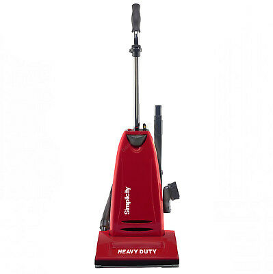 Heavy Duty Upright Vacuum - Simplicity Heavy Duty SHD-1T Commercial Upright Vacuum Cleaner