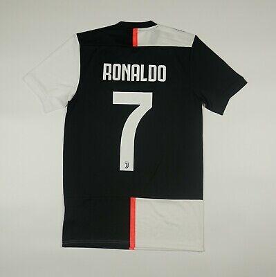 NWOT Ronaldo #7 Juventus 2019 2020 Home Football Soccer Shirt Jersey Adidas image