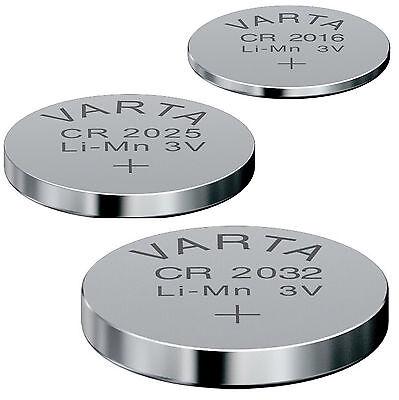 Varta Knopfzelle CR2032 CR2025 CR2016 Original Batterie Industrieware Bulk