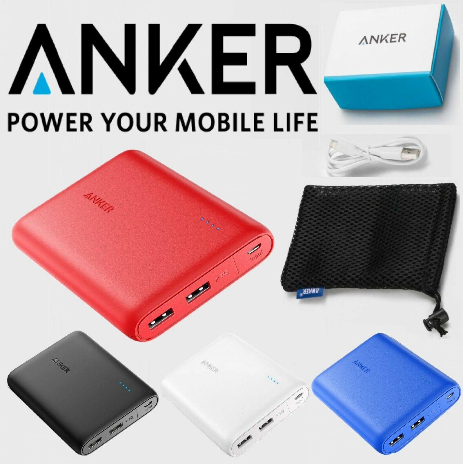 Anker PowerCore 13000, Compact 13000mAh 2-Port Ultra-Portabl
