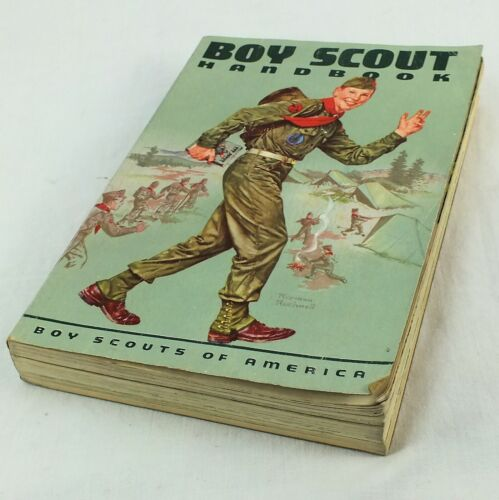 Vintage 1959 Boy Scouts of America Handbook 6th Edition 1st Printing