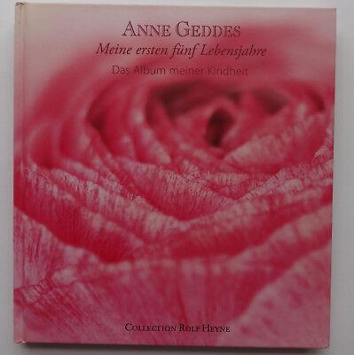 Meine ersten fünf Lebensjahre Anne Geddes Das Album meiner Kindheit Baby Rosa