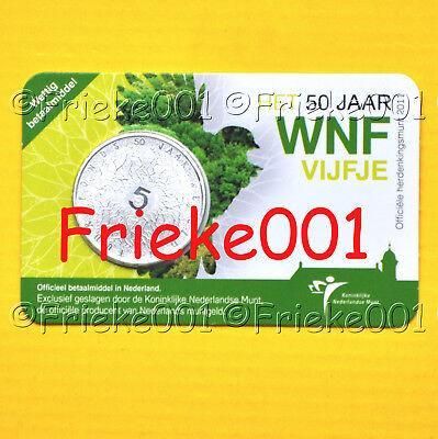 Nederland - Pays-Bas - 5 euro 2011 in blister.(50 jaar WNF)