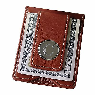Personalized Money Clip and Wallet Combo - Brown - Groomsmen Gift  - Personalized Money Clip Wallet