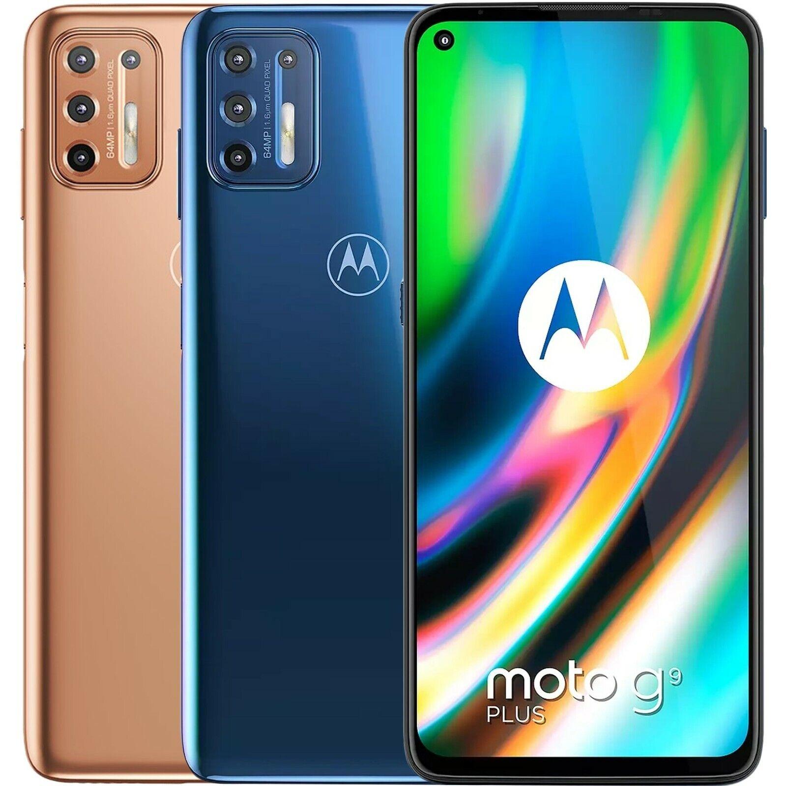 "Android Phone - Motorola Moto G9 Plus XT2087-2 128GB 6GB RAM Dual Sim (FACTORY UNLOCKED) 6.81"""