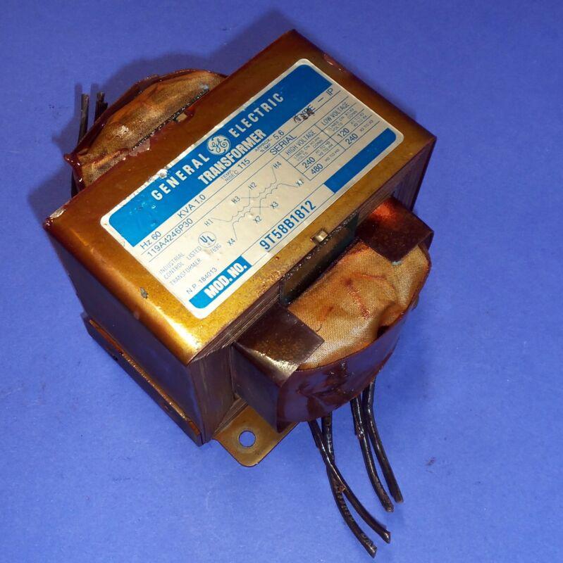 GENERAL ELECTRIC 1.0KVA TRANSFORMER 119A4246P30