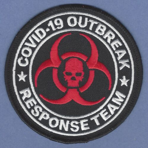 RESIDENT EVIL CV19 OUTBREAK RESPONSE TEAM PATCH