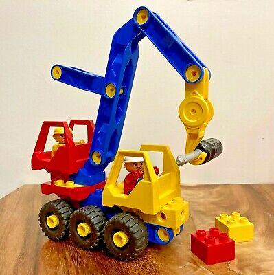 LEGO DUPLO TOOLO 2930 MOBILE CRANE (1992) RARE