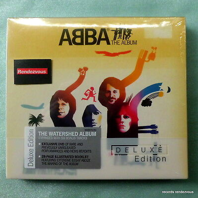 ABBA RARE M EU Deluxe Ed CD+DVD Digipak The Album(1977)Eagle Take A Chance On Me