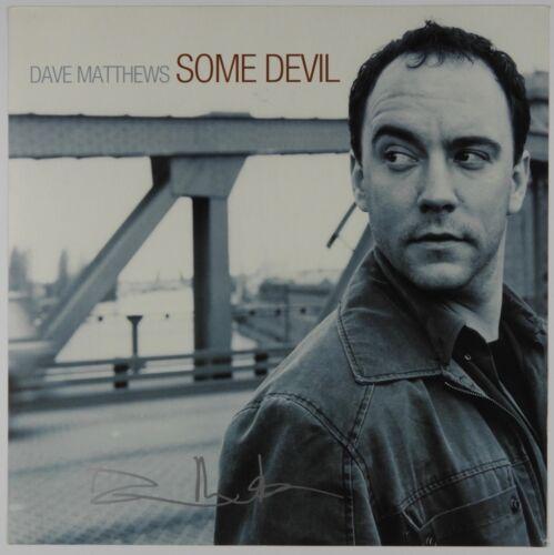 Dave Matthews JSA Signed Autograph Record Album Flat Some Devil
