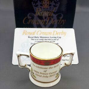 Royal Crown Derby PRINCE GEORGE LOVING CUP 65/250 Treasures of Childhood