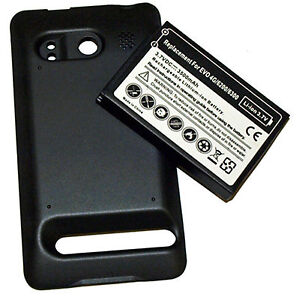 3500MAH Extended Battery +Cover for HTC EVO 4 4G USA Seller