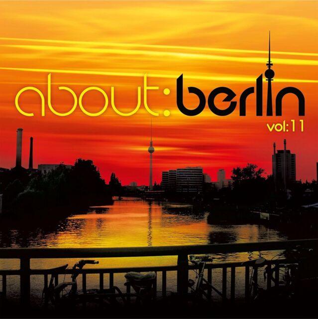 """Various Artists """"about berlin vol.11"""" Vinyl 4LP + MP3 NEU 2015"""
