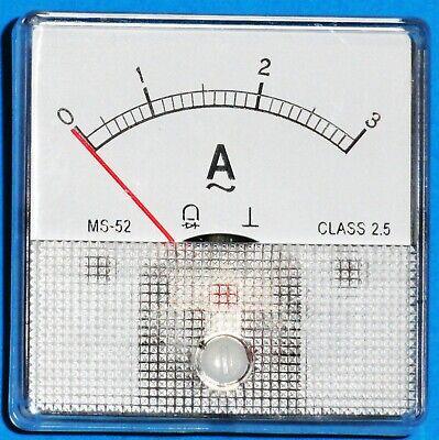 Dc Panel Mount Meter 3 Amp Ac