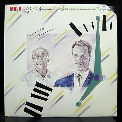 Mr  B   J C  Heard   Partners In Time Lp Mint  Bp 2988 Vinyl 1988 Record