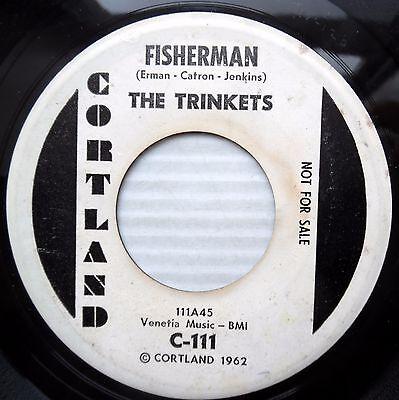 Trinkets 1963 Girl Group Northern Popcorn Double A Promo 45 Fisherman E8896