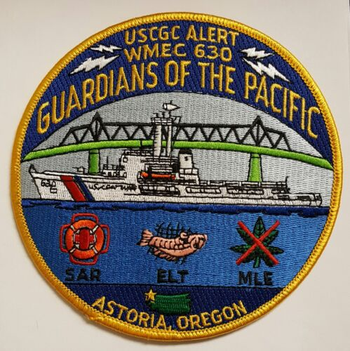 USCG United States Coast Guard WMEC 630 Guardians of the Pacific Cloth Patch