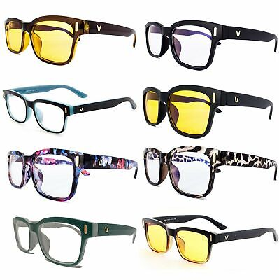 Gaming Glasses Computer Blue Light Blocking Anti Fatigue UV Protection (Light Blocking Glasses)