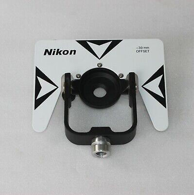 New White Nikon Single Prism Target For Pentax Nikon Total Station Surveying
