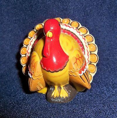 Hallmark Merry Miniature 1980 TURKEY Thanksgiving