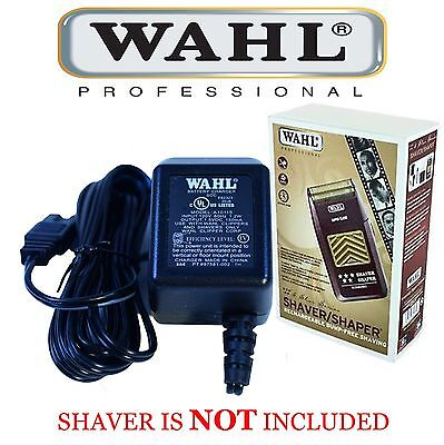 POWER CHARGING ADAPTER/CHARGER for WAHL 5 STAR SHAVER SHAPER