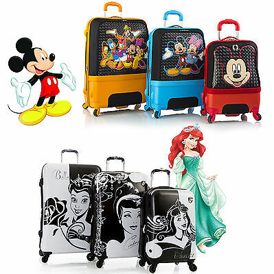 Disney Princess Mickey Minnie Hardcase Expandable Suitcase L