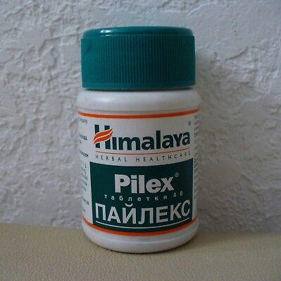 Himalaya PILEX  for Hemorrhoids and Varicose Veins 40 tablets