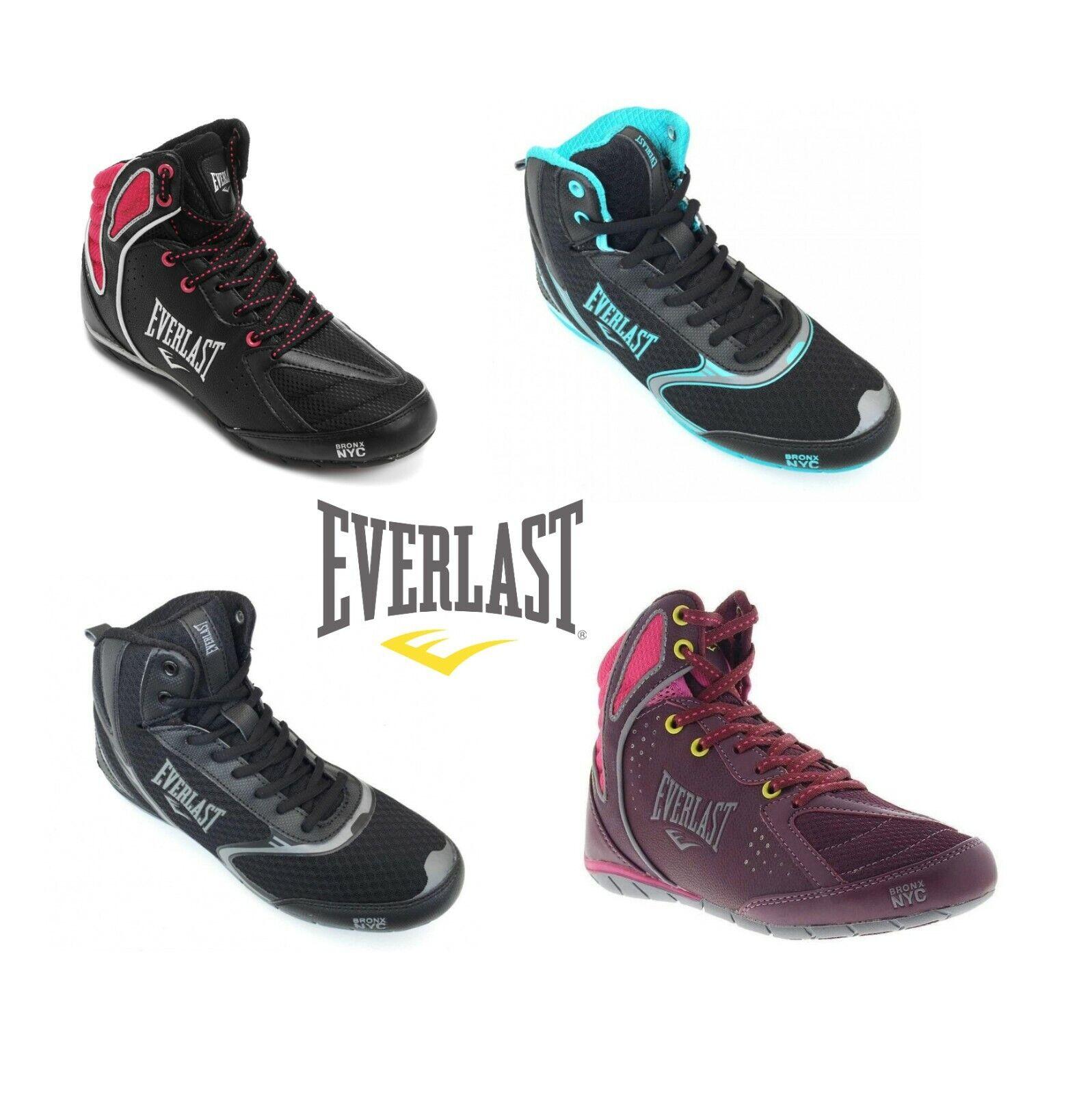 как выглядит Everlast Strike Force Ladies Womens Boxing Shoes Boots фото