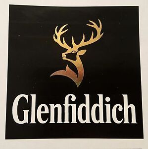 Glenfiddich scotch whisky sticker / decal