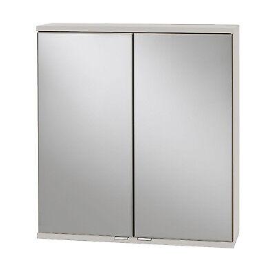 Spiegelschrank Badezimmerspiegel Badspiegel Badschrank 2 Türen 60 cm breit weiss online kaufen