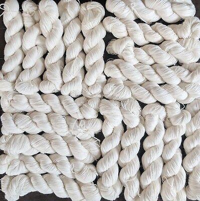 - 75%Superwash Merino 25%Nylon,2 kg(4.4 lbs), UNDYED fingering weight yarn by Hank