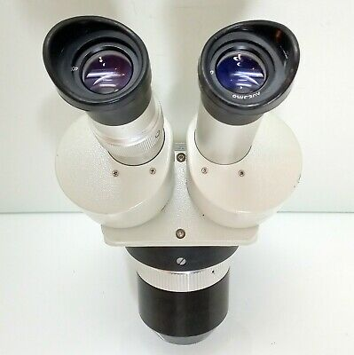 Meiji Emt-2 Stereo Turret Microscope Swf30x Eyepieces 30x 90x Mag Serviced 426