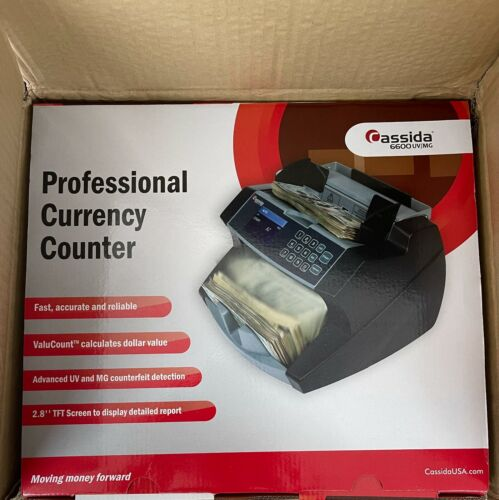 Cassida 6600UV, Ultraviolet Currency Counter - New In Box