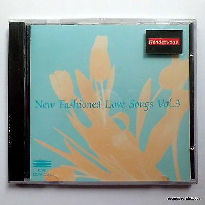 New Fashioned Love Songs V3 CD RARE Maxi Wham Europe Claudja Barry Shakin Steven