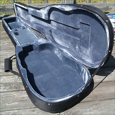 Hybrid Dreadnought Acoustic Guitar Case, Black canvas over rigid foam..used once