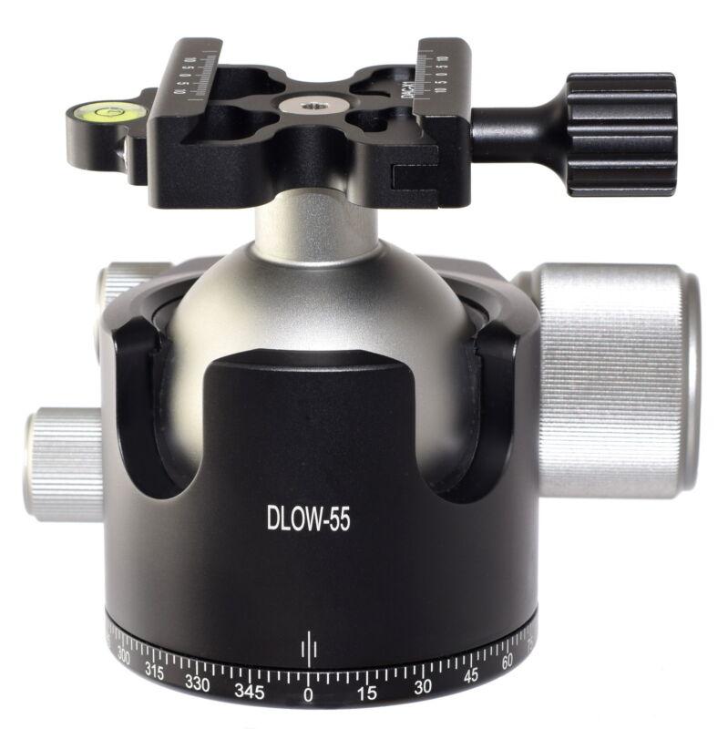 Desmond DLOW-55 55mm Low Profile Ball Head Arca / RRS Compatible w DAC-X1 Clamp