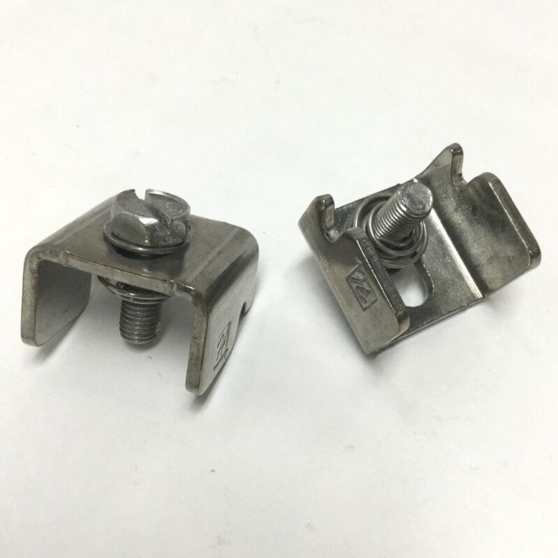Hoffman AL16 13255 Enclosure Box Clamp Kit, 304 Stainless Steel (Pair of 2)