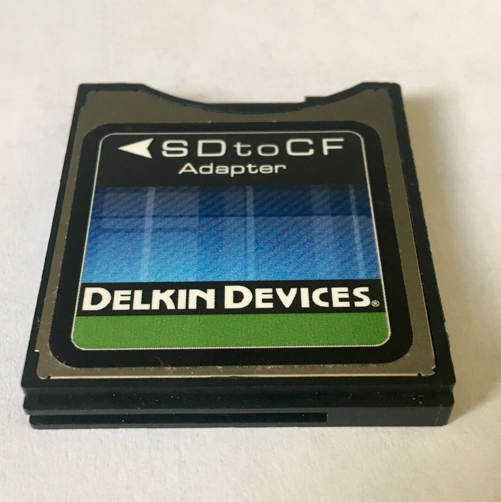 Converter SD Card To Compact Flash Delkin SD/SDHC To CF Type 2 Adapter - $125.00
