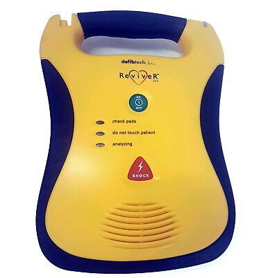 Defibtech Reviver Aed With Carry Case - Biomed Certified - Warranty