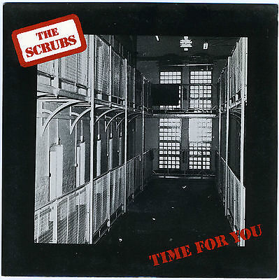 "THE SCRUBS Time For You 1987 Flicknife 7"" prison inmates hard rock unplayed new"