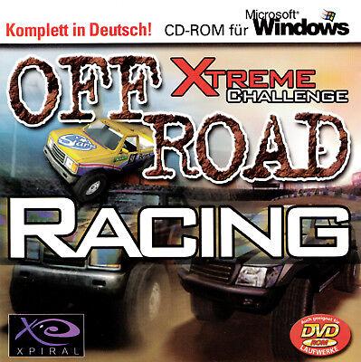 Off Road Racing Xtrem Challence von X Piral für den PC  (CD in der Box) gebraucht kaufen  Fürth