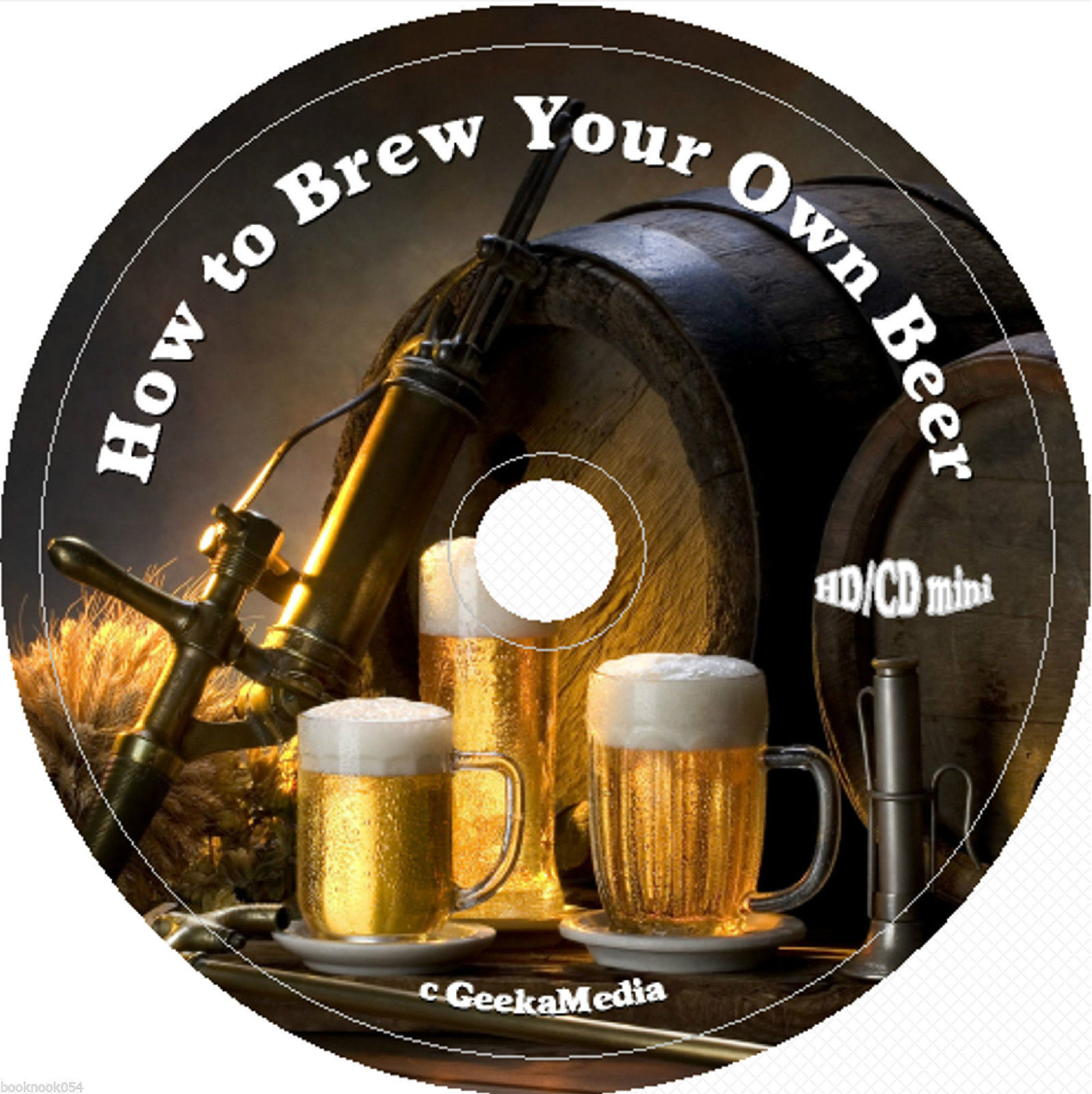 $9.49 - How to Brew Your Own Beer cd Books Recipes Cookbook Making Make Vintage Home