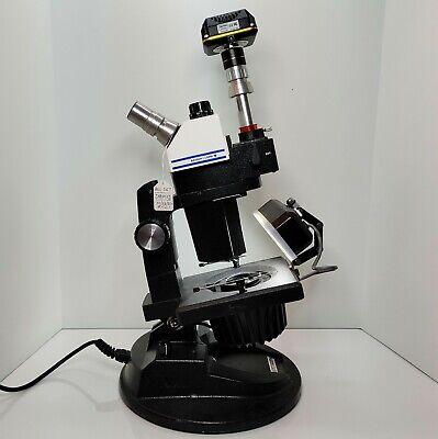 Gia Gemolite Mark Vii Sz7 Trinocular Microscope Gemscope Grader Camera 561